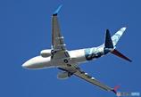 「良い天気」☮アメリカ企業所有:ウィルミントン・737 N737ER☮