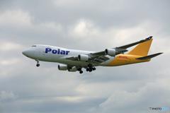 「はれー」 Polar 747-460 N451PA Takeoff