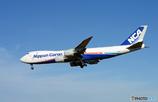 「良い天気」 NCA 747-8KZF JA13KZ Takeoff