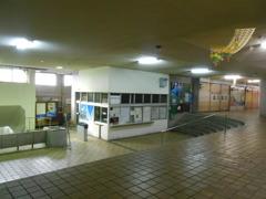中滑川駅旧駅舎切符売り場