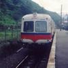 新島々駅にて(1987年)