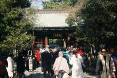 高徳院の仁王門