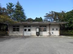 旧蛸島駅駅舎