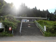 旧松波駅駅舎