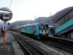 江津行きの列車