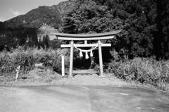 三石神社の鳥居