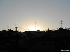 日没は早い
