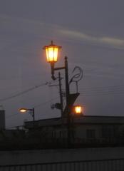 陸奥鶴田の灯