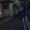 東京散歩 神楽坂 メインストリートへの坂道