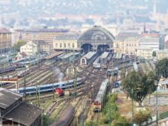 朝のブダペスト東駅