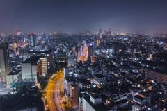 Ikebukuro Night View