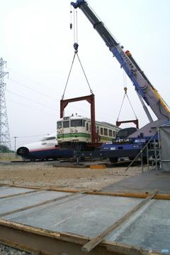 新津鉄道資料館 E4系と115系