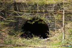 中央本線旧線 瀬沢トンネル
