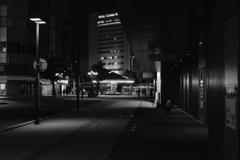 acros で夜の街