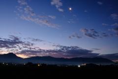 日の出前の感激