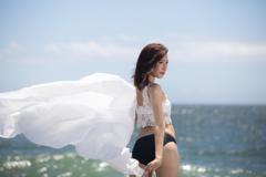 水着モデル撮影会~夏の海
