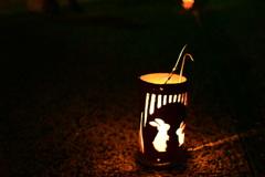 ベンガラ灯り