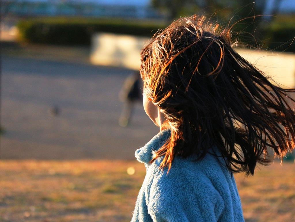 風の強い昼下がり