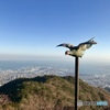 六甲山-天覧台から神戸方面の風景