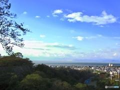 彦根城 天守閣からの眺め