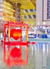 サンタさんからのおくりもの Red Heart Gift   X'mas