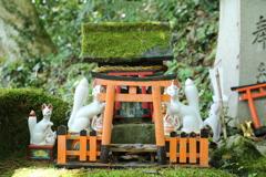 太鼓谷稲荷神社。