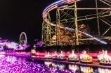 光り輝くテーマパーク