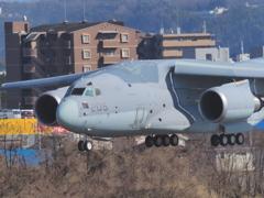 2018小牧基地オープンベースにC-2飛来(4)