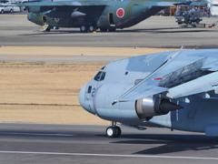 2018小牧基地オープンベースにC-2飛来(3)