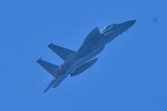 嘉手納基地F-15と小松基地機合同訓練(4)