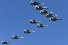 F-15飛行大編隊(5)