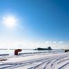 冬の入港船