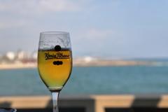 地中海とビール