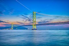 橋に架かる一筋の光_HDR