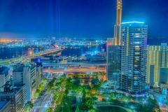 神戸夜景_HDR