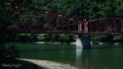 Lenticular Truss Bridge