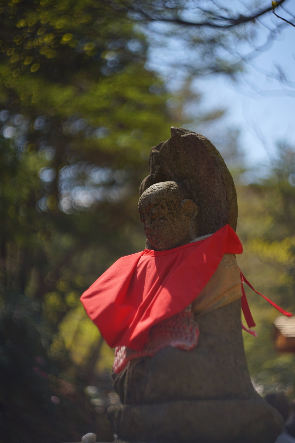 Helios44オールドレンズ試し撮り② 草津のお地蔵さん