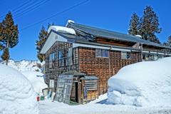 雪と暮らして…