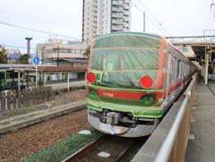 甲種輸送 東武鉄道70000系