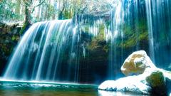 冬の鍋ヶ滝