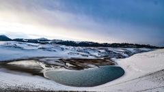雪景色 鳥取砂丘2