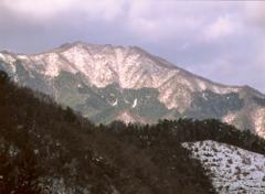 冬の中国山地