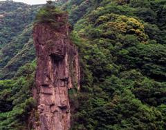 長門峡重塀岩