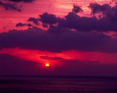 日向灘の朝日
