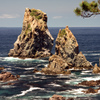 青海島カモメ岩