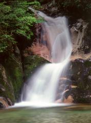 寂地峡龍尾の滝