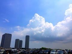入道雲の城