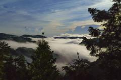 溢れる雲海-1
