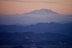 雲海からの御岳