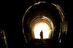 廃線トンネルを撮る